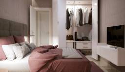 Apartamento com 2 dorms, Guilhermina, Praia Grande - R$ 240 mil, Cod: 777