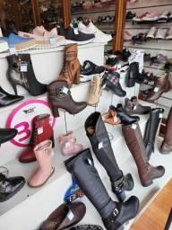 Estoque de calçados