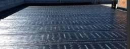 Aplicaçao e impermeabilização de manta asfáltica