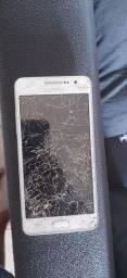 Samsung Grand prime com display quebrado único dono