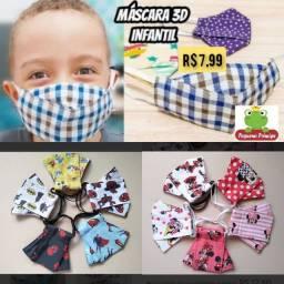 Máscara infantil 3D
