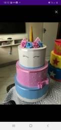 Maquete de bolo (fake) aluguel