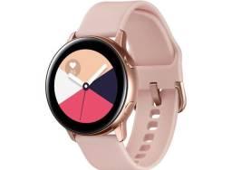 Relógio Samsung active rosê