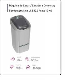 Lavadora 10Kg Semiautomática Colormaq