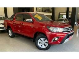Toyota Hilux 2.7 Srv Cd Flex + Gnv Automático 2017!!!