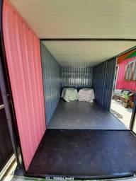 Container de 5,00x2,45 por 2,30 de altura.