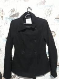 casaco lã batida bem grosso tam PP veste 38  35,00