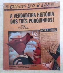 Livro A Verdadeira História dos Três Porquinhos