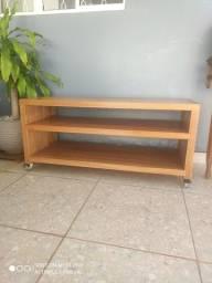 Rack pequeno madeira maciça