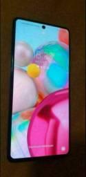 Troco  Galaxy A71 128gb e 6gb por Redmi Note 9T ou Poco M3
