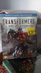 Bluray Transformers A Era da Extinção 2D + 3D (Lacrado)