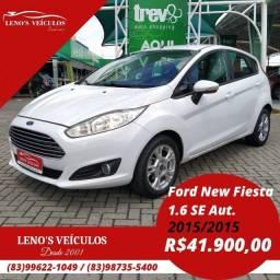 Ford New Fiesta 1.6 SE Automático 2015