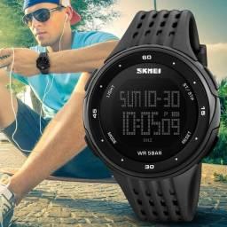 Relógio de pulso original skmei, aprova d'água