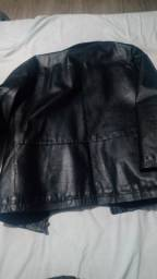 Jaqueta couro puro
