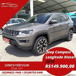 Jeep Compass Longitude 2018 Automática 4x4 Diesel (Trail Rated)