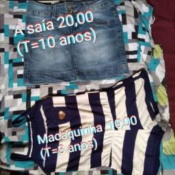 Vestidos semi-novos de 10 reais a 30.