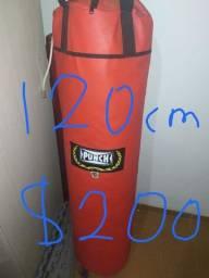 Saco de Pancada Grande 120cm Punch