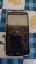 Aparelho para retirar peças,  celular LG  Motorola e cobertura shot