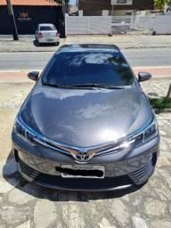 Toyota corolla gli upper 2017/2018 cinza