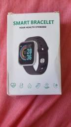 Relógio inteligente preto (Smartwatch)