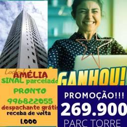 Seu melhor lugar...parc torre...Amélia vende 2QTS.nda de entrada