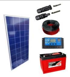 Kit placa solar 150w