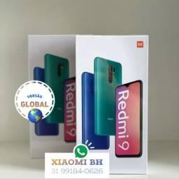 C/ Nota FISCAL é AQUI! Xiaomi REDMI 9 64GB 4GB Ram / Novo Lacrado GARANTIA / GLOBAL