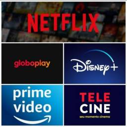 Netflix Globoplay Disney e Amazon prime