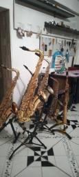 Título do anúncio: Ssx alto, saxofone tenor e sopram
