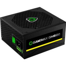 Fonte 600w Gamemax Modular 80 Plus Bronze NOVA