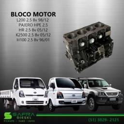 Bloco Motor L200/ Pajero/ Hr/ K2500/ H100