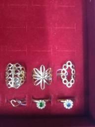 Vendo semi-jóias banhada no ouro 18 quilates