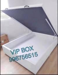 Voz baú casal VIP BOX - premium - ferragens grandes 7 pés