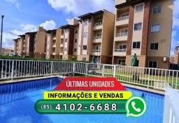 Vendo apartamento na Parangaba, pronto para morar | Ligue 4102-6688