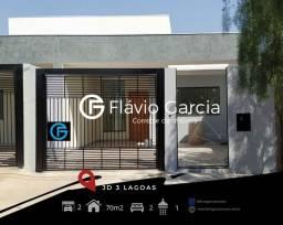 Título do anúncio: VENDA | Casa, com 2 quartos em Jardim Três Lagoas, Maringá