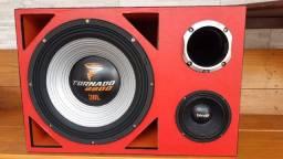 Caixa Full Trap Trio de 15 pol. Tornado 2200