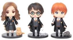 Boneco Harry Potter Hermione Ronald Figures Estátuas
