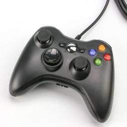 Controle Xbox 360 Paralelo com fio.
