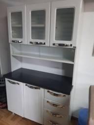 Conjunto de armários + suporte para microondas