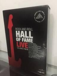 BOX DVD - ROCK AND ROLL HALL OF FAME VL 1, 2 e 3 comprar usado  São Paulo
