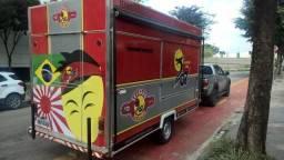 Trailer Food Truck 4mx2m pronto para trabalhar!