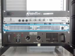 Amplificador de Potência DBK 2000 Wattsom - Ciclotron