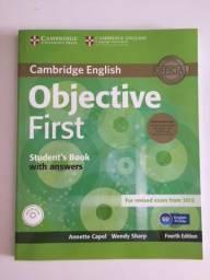 FCE Cambridge - pack com 2 Livros e 2 CDs. Desconto + de 50% off