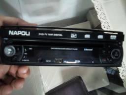 DVD automotivo retrátil Napoli