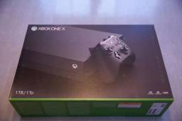 Xbox one X 4 jogos