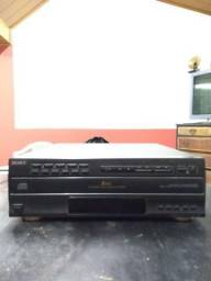 5 Disc Cd Player Sony Cdp C-505m