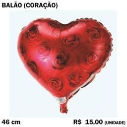 Título do anúncio: Balão Coração Estampado Laminado