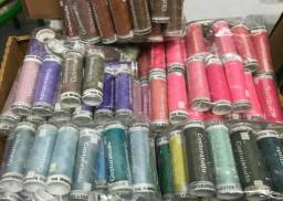 400un - Linhas para costura diversas cores - Novas - Gutermann