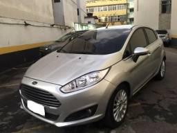 New Fiesta hatch Titanium automático com gnv 5 geração preço real - 2014