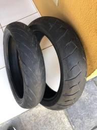 Vendo 2 pneus Meia Vida Pirelli Diablo